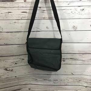 3/$25 Bundle Sale!! Dark grey messenger bag